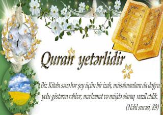 Quran Yetərlidir